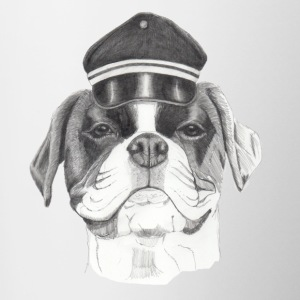 Boxer with cap - Contrasting Mug