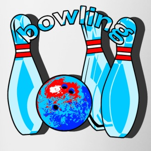 bowling - Tazze bicolor