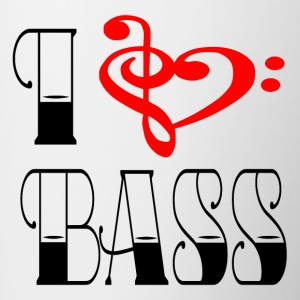 I LOVE BASS - Tofarget kopp