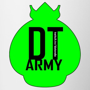 DT ARMY GREEN - Contrasting Mug