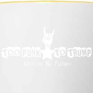 For Punk til Trump - Tofarvet krus