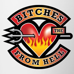Bitches from Hell - Contrasting Mug