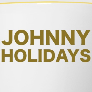 Johnny Holidays - Tasse bicolore