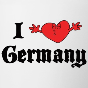 I Love Germany - Contrasting Mug