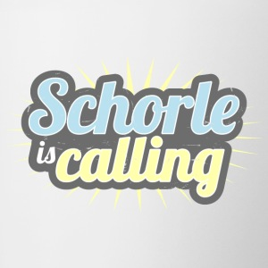 Schorle is calling - Contrasting Mug