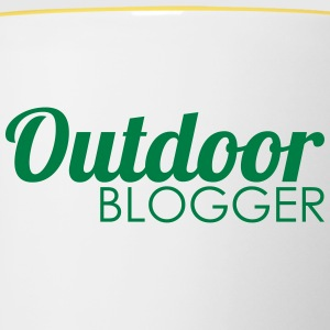 outdoor Blogger - Mok tweekleurig