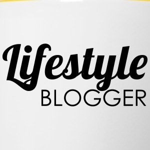 Lifestyle blogger - Mok tweekleurig