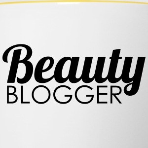 Beauty Blogger - Tasse zweifarbig