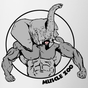 Muscle Phant - Tasse bicolore