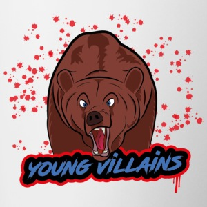 orso young villains - Tazze bicolor