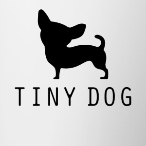 Tiny Dog - Mok tweekleurig