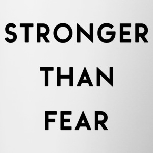 Stronger Than Fear - Contrasting Mug