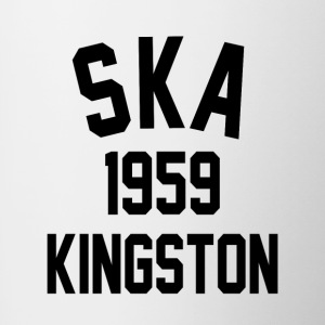 1959 Ska Kingston - Tofarvet krus