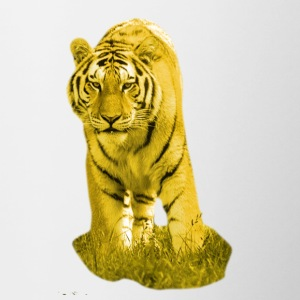 Yellow Tiger - Contrasting Mug