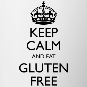Keep Calm And Eat Gluten Free - Contrasting Mug