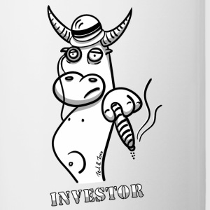 The bull as boss, investor and entrepreneur - Contrasting Mug