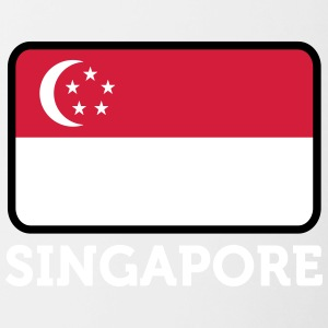 National Flag Of Singapore - Contrasting Mug
