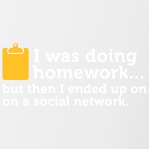 I Did My Homework And Then ... - Contrasting Mug