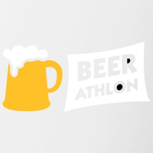 BEER ATHLON - The Beer Marathon - Contrasting Mug