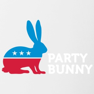 Political Party Animals: Bunny - Contrasting Mug