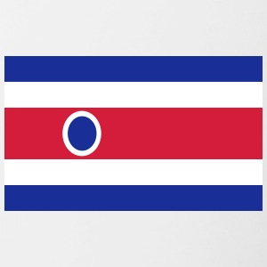 National Flag Of Costa Rica - Contrasting Mug