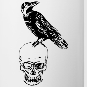Raven Of Death - Tasse zweifarbig