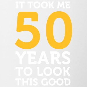 It Took 50 Years To Look So Good! - Contrasting Mug