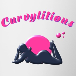 Curvylitious Bed Candy - Tofarvet krus