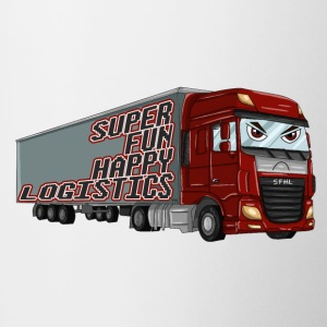 Super Fun Happy Logistics - Tofarvet krus