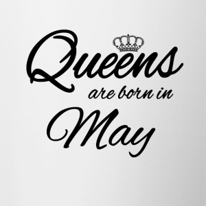 Queens Born May Princess Birthday Birthday May - Contrasting Mug