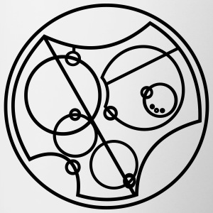 I Love You Gallifreyan - Kubek dwukolorowy