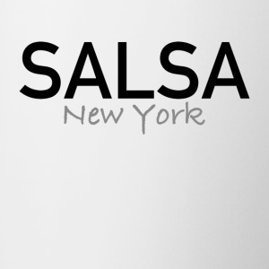 Salsa New York - On The Dance Shirts - Tasse bicolore
