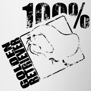 Golden retriever 100 - Tofarvet krus