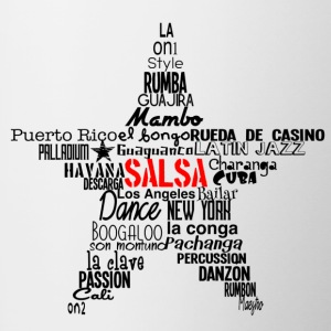 Salsa Star Shirt black - Mambo New York - Tasse zweifarbig