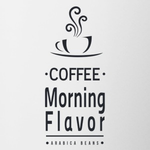 Coffee Morning Flavor - Contrasting Mug