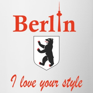 Berlin I love you - Contrasting Mug