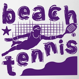 BEACH TENNIS BOYS - Contrasting Mug