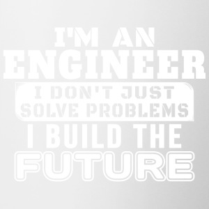 Engineers build the future - Contrasting Mug