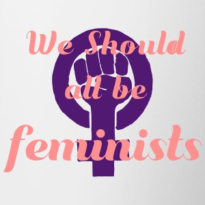 We should all be feminists - Contrasting Mug