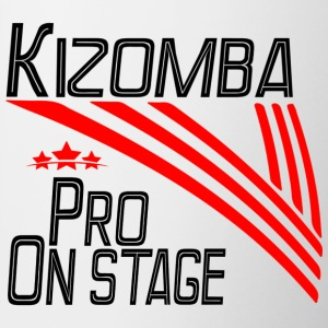 Kizomba Pro - On Stage black - Pro Dance Edition - Contrasting Mug