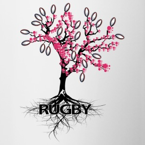 THE RUGBY TREE - Contrasting Mug