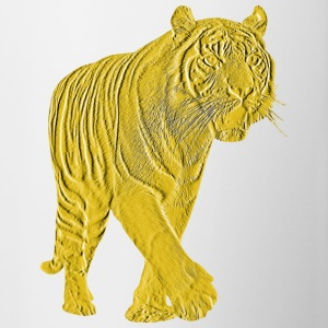 Golden Tiger - Mok tweekleurig
