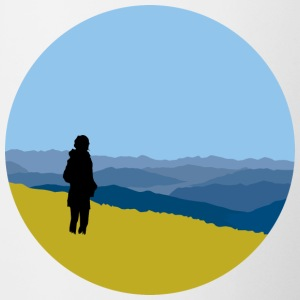 Travel, mountains and expanse - Contrasting Mug