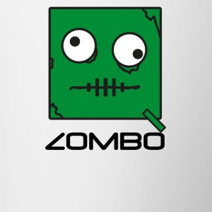 Zombie 'Zombo' Monster | Qbik Design Series - Mok tweekleurig