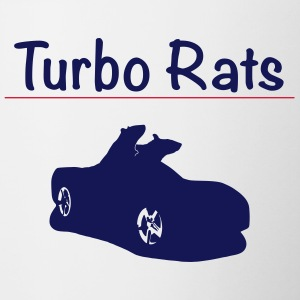 Turbo Rats - Tasse bicolore