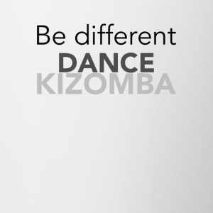Be different Dance Kizomba - on DanceShirts - Contrasting Mug