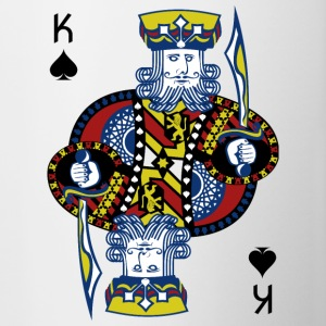 King of Spades Poker Hold'em - Tvåfärgad mugg