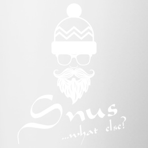 Snus what else ...? - Tasse zweifarbig