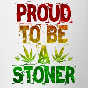 Proud To Be A Stoner - Contrasting Mug