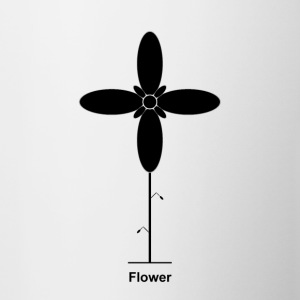 Geometry / special series / Flower / without background - Contrasting Mug